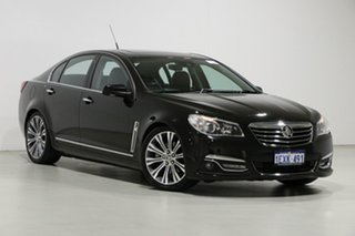 2014 Holden Calais VF MY15 V Black 6 Speed Automatic Sedan.