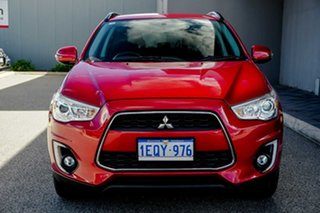 2015 Mitsubishi ASX XB MY15 LS 2WD Red/Black 6 Speed Constant Variable Wagon