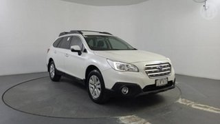 2017 Subaru Outback MY16 2.0D AWD Crystal White Pearl Continuous Variable Wagon.