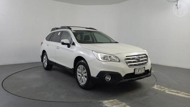 Used Subaru Outback MY16 2.0D AWD Altona North, 2017 Subaru Outback MY16 2.0D AWD Crystal White Pearl Continuous Variable Wagon