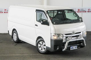 2018 Toyota HiAce KDH201R LWB French Vanilla 4 Speed Automatic Van.