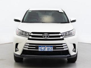 2018 Toyota Kluger GSU55R MY17 GX (4x4) White 8 Speed Automatic Wagon.