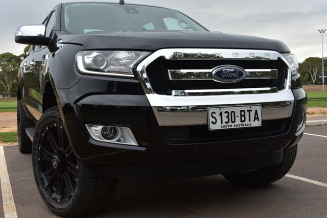 Used Ford Ranger PX MkII XLT Double Cab St Marys, 2017 Ford Ranger PX MkII XLT Double Cab Black 6 Speed Sports Automatic Utility
