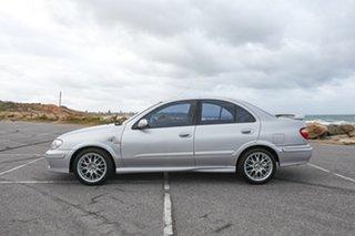 2001 Nissan Pulsar N16 ST Silver 4 Speed Automatic Sedan
