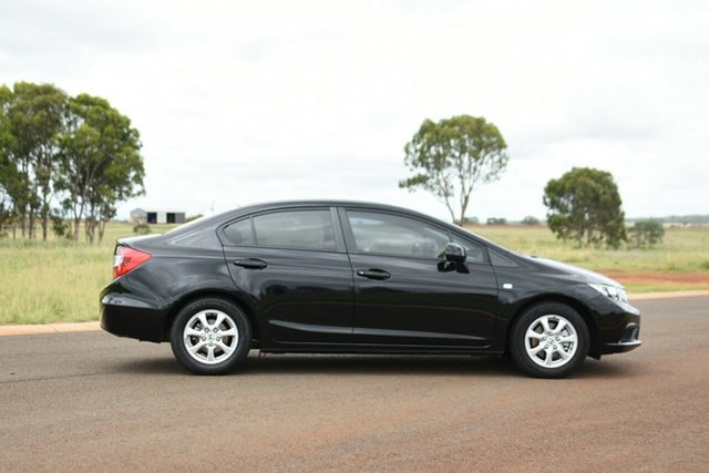 Used Honda Civic Kingaroy, 2015 Honda Civic Black Automatic Sedan