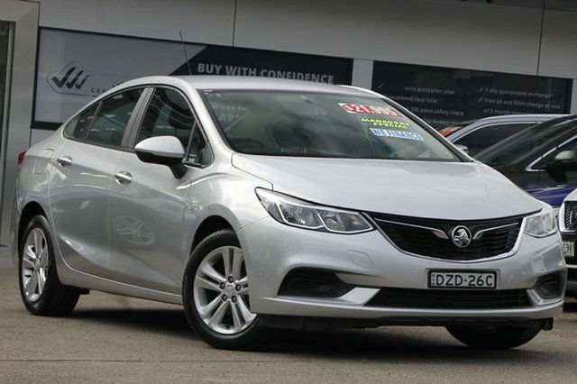 Used Holden Astra BL MY18 LS+ Homebush, 2018 Holden Astra BL MY18 LS+ Silver 6 Speed Sports Automatic Sedan