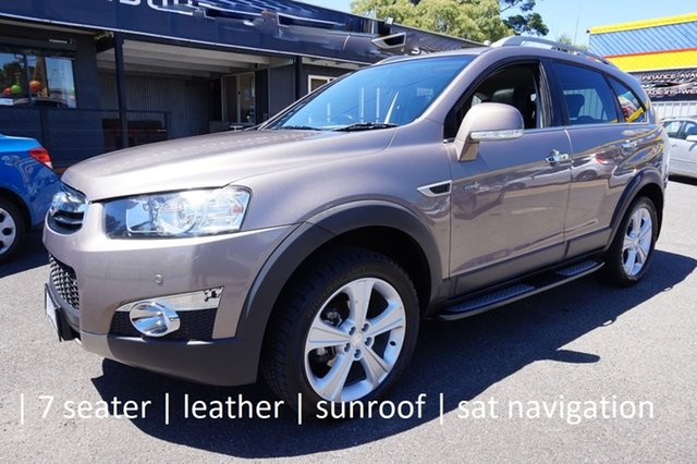 Used Holden Captiva CG MY13 7 AWD LX Dandenong, 2013 Holden Captiva CG MY13 7 AWD LX Sandy Beach 6 Speed Sports Automatic Wagon