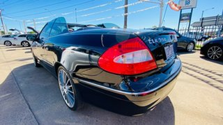 2005 Mercedes-Benz CLK-Class A209 MY06 CLK350 Elegance Black 7 Speed Sports Automatic Cabriolet