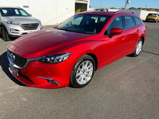 2014 Mazda 6 GJ1031 Touring SKYACTIV-Drive Red 6 Speed Sports Automatic Wagon.