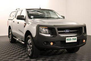 2015 Ford Ranger PX XL Highlight Silver 6 speed Automatic Utility.