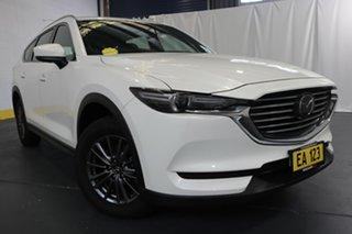 2019 Mazda CX-8 KG B Sport (FWD) White 6 Speed Automatic Wagon.