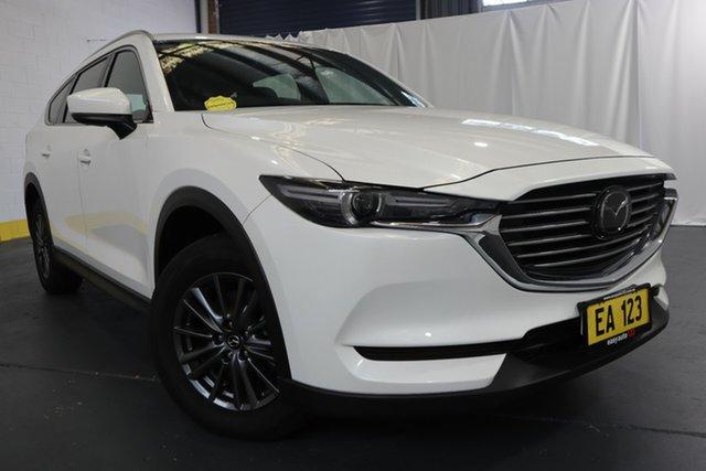 Used Mazda CX-8 KG B Sport (FWD) Castle Hill, 2019 Mazda CX-8 KG B Sport (FWD) White 6 Speed Automatic Wagon