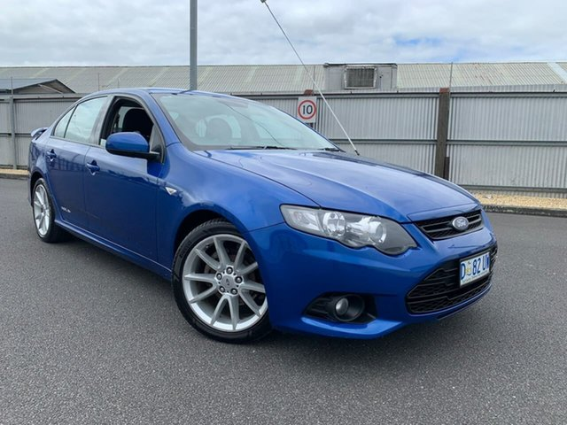 Used Ford Falcon FG MkII XR6 Moonah, 2012 Ford Falcon FG MkII XR6 Blue 6 Speed Sports Automatic Sedan
