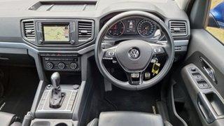 2018 Volkswagen Amarok 2H MY18 TDI550 4MOTION Perm Ultimate Ravenna Blue 8 Speed Automatic Utility