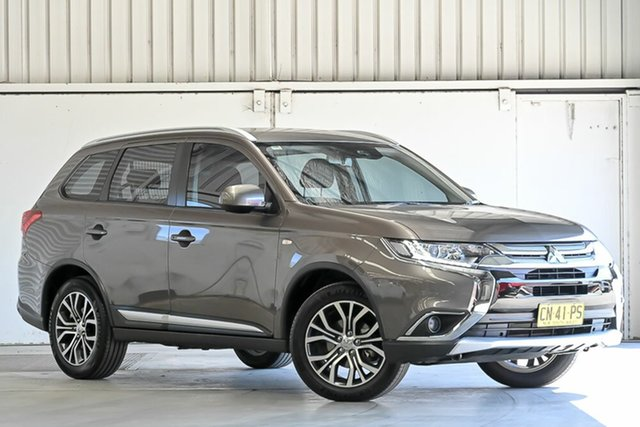 Used Mitsubishi Outlander ZK MY17 LS 4WD Laverton North, 2017 Mitsubishi Outlander ZK MY17 LS 4WD Ironbark 6 Speed Constant Variable Wagon