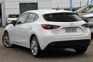 2015 Mazda 3 BM5438 SP25 SKYACTIV-Drive White 6 Speed Sports Automatic Hatchback.