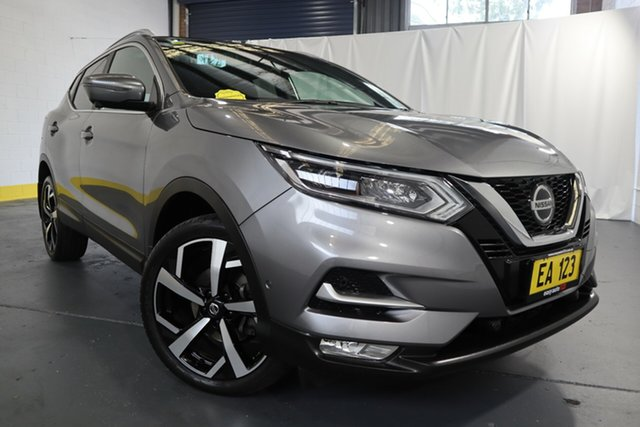 Used Nissan Qashqai J11 Series 2 Ti X-tronic Castle Hill, 2018 Nissan Qashqai J11 Series 2 Ti X-tronic Grey 1 Speed Constant Variable Wagon