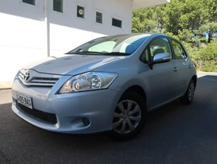 2012 Toyota Corolla ZRE152R MY11 Ascent Blue 4 Speed Automatic Hatchback.