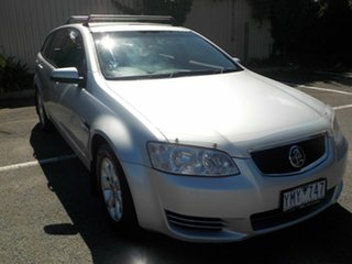 2012 Holden Commodore VE II MY12 Omega Silver 6 Speed Automatic Sportswagon.