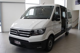 2020 Volkswagen Crafter SY1 MY20 35 MWB FWD TDI340 Candy White 8 Speed Automatic Van.