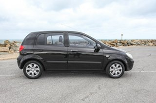 2010 Hyundai Getz TB MY09 S Black 5 Speed Manual Hatchback.