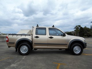 2006 Holden Rodeo RA MY06 LX Crew Cab Gold 5 Speed Manual Utility