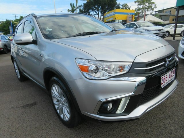 Used Mitsubishi ASX XC MY19 ES 2WD ADAS Mount Gravatt, 2018 Mitsubishi ASX XC MY19 ES 2WD ADAS Silver 1 Speed Constant Variable Wagon