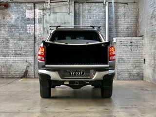 2018 Mitsubishi Triton MQ MY18 Exceed Double Cab Grey 5 Speed Sports Automatic Utility