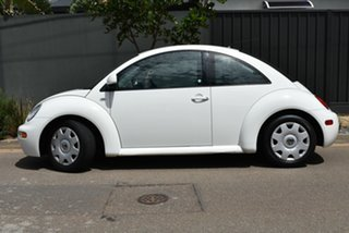 2006 Volkswagen Beetle 9C MY2006 TDI Coupe White 5 Speed Manual Liftback.