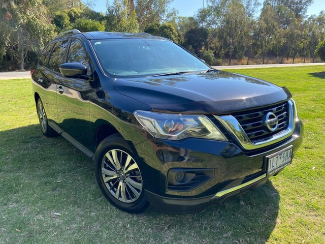 Used Nissan Pathfinder R52 Series II MY17 ST X-tronic 2WD Wodonga, 2017 Nissan Pathfinder R52 Series II MY17 ST X-tronic 2WD Black 1 Speed Constant Variable Wagon
