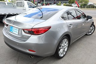 2013 Mazda 6 GJ1021 GT SKYACTIV-Drive Silver 6 Speed Sports Automatic Sedan.