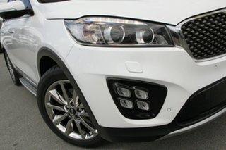 2017 Kia Sorento UM MY17 GT-Line AWD Snow White Pearl 6 Speed Sports Automatic Wagon.