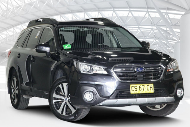 Used Subaru Outback B6A MY19 2.5i CVT AWD Moorebank, 2018 Subaru Outback B6A MY19 2.5i CVT AWD Grey 7 Speed Constant Variable Wagon