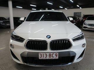 2020 BMW X2 F39 sDrive20i Coupe DCT Steptronic M Sport X Alpine White 7 Speed.