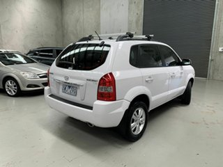 2010 Hyundai Tucson JM MY09 City SX White 4 Speed Sports Automatic Wagon