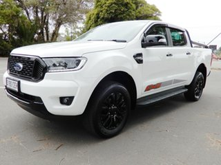 2019 Ford Ranger PX MkIII 2020.25MY FX4 White 6 Speed Sports Automatic Double Cab Pick Up