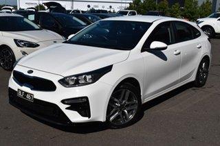 2019 Kia Cerato BD MY20 Sport+ White 6 Speed Sports Automatic Hatchback.