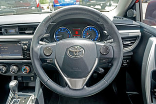 2015 Toyota Corolla ZRE172R SX S-CVT Red 7 Speed Constant Variable Sedan