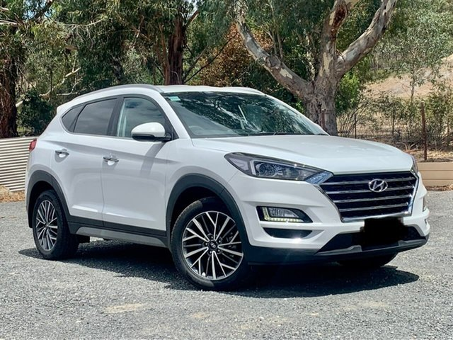 Used Hyundai Tucson TL3 MY20 Elite AWD Clare, 2019 Hyundai Tucson TL3 MY20 Elite AWD White 8 Speed Sports Automatic Wagon
