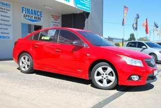2011 Holden Cruze JH SRi V Red 6 Speed Automatic Sedan.