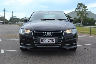 2014 Audi A3 8V Attraction Sportback S Tronic Black 7 Speed Sports Automatic Dual Clutch Hatchback
