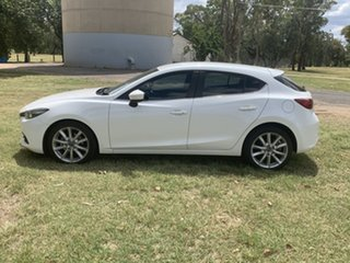 2016 Mazda 3 BN5438 SP25 SKYACTIV-Drive Crystal Pearl 6 Speed Sports Automatic Hatchback