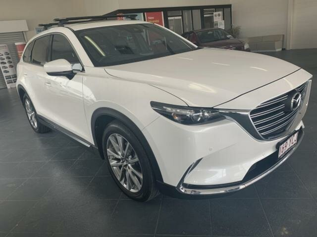 Used Mazda CX-9 MY18 GT (AWD) Emerald, 2018 Mazda CX-9 MY18 GT (AWD) White 6 Speed Automatic Wagon