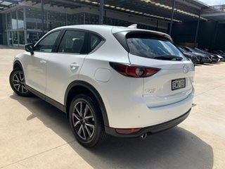 2020 Mazda CX-5 KF4WLA GT SKYACTIV-Drive i-ACTIV AWD Snowflake White 6 Speed Sports Automatic Wagon