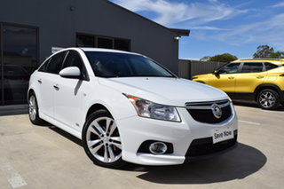 2014 Holden Cruze JH Series II MY14 SRi Z Series Heron White 6 Speed Sports Automatic Sedan.