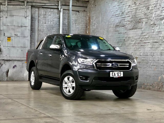 Used Ford Ranger PX MkIII 2019.00MY XLT Hi-Rider Mile End South, 2019 Ford Ranger PX MkIII 2019.00MY XLT Hi-Rider Grey 6 Speed Sports Automatic Double Cab Pick Up