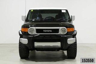 2015 Toyota FJ Cruiser GSJ15R MY14 Black 5 Speed Automatic Wagon.