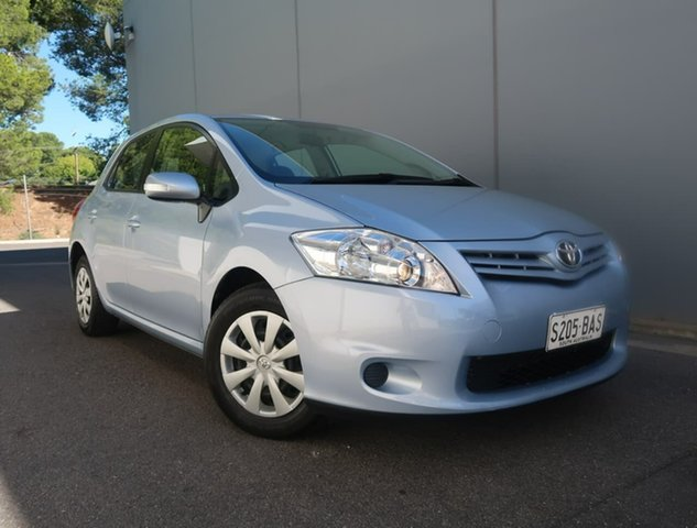 Used Toyota Corolla ZRE152R MY11 Ascent Reynella, 2012 Toyota Corolla ZRE152R MY11 Ascent Blue 4 Speed Automatic Hatchback