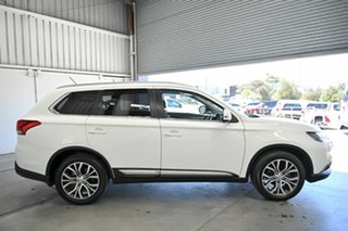 2016 Mitsubishi Outlander ZK MY16 LS 4WD White 6 Speed Constant Variable Wagon