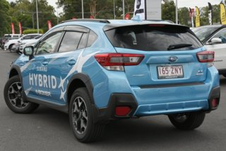 2019 Subaru XV G5X MY20 Hybrid Lineartronic AWD Lagoon Blue 7 Speed Constant Variable Wagon Hybrid.